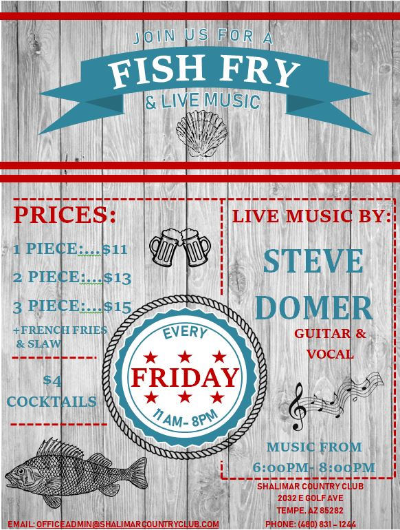 Fish Fry & Music Flyer 1.21.2019